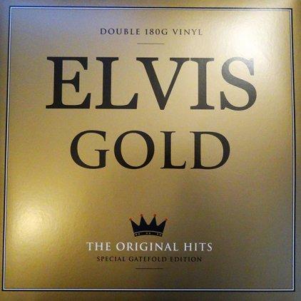 Elvis Presley ELVIS GOLD THE ORIGINAL HITS (180 Gram/Remastered/Gatefold)