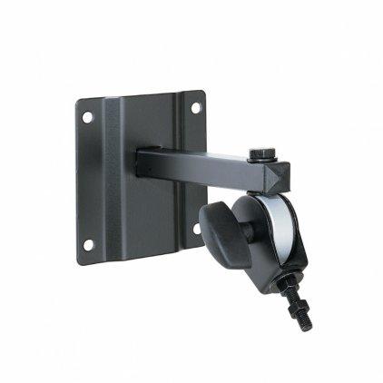 EuroMet BYR/M8 Настенный кронштейн для установки громкоговорителя до 10кг, болт с резьбой М8, с регулировками поворота и наклона, сталь черного цвета.