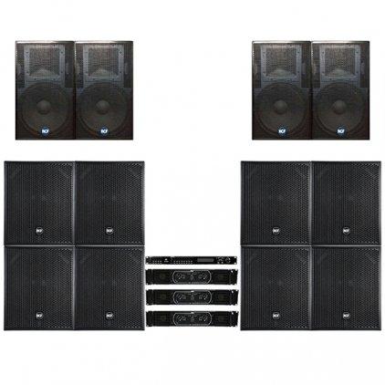 Комплект звукового оборудования RCF ACUSTICA series