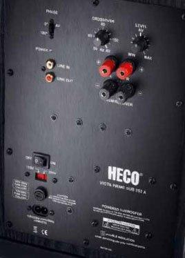 Сабвуфер Heco Victa Prime Sub 252 A black