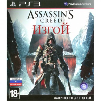 Sony Игра для PS3 Assassin's Creed: Изгой, Рус.в.