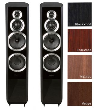 Wharfedale Diamond 10.7 rosewood quilt