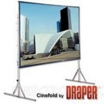 "Draper Cinefold HDTV (9:16) 411/161"" 201*356 MW"