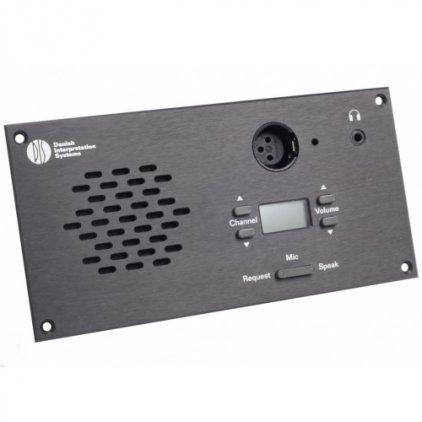 DIS Микрофонный врезной пульт делегата DM 6080 F