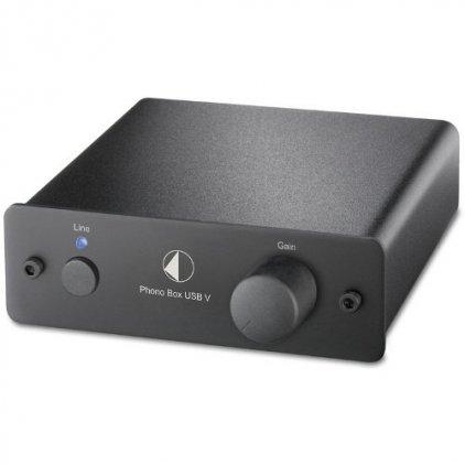 Pro-Ject Phono Box USB V (MM/MC) black