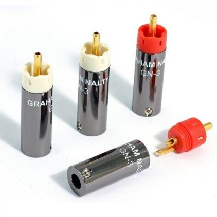Разъем Black Rhodium Graham Nalty RCA gold plug kit GN-3