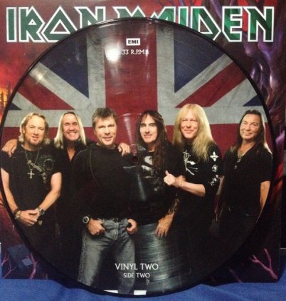 Виниловая пластинка Iron Maiden FROM FEAR TO ETERNITY: THE BEST OF 1990-2010 (Picture disc/180 Gram)