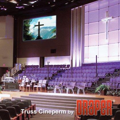 """Draper Cineperm NTSC (3:4) 508/200"""" 310x417 CRS (натяжной"""