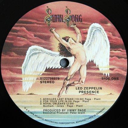 Виниловая пластинка Led Zeppelin PRESENCE (Remastered/180 Gram/Gatefold)