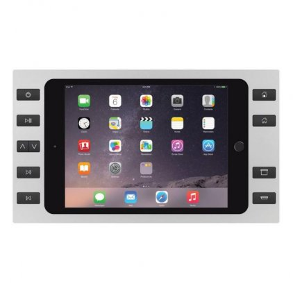 iPort SURFACE MOUNT BEZEL SILVER WITH 10 BUTTONS (For iPad Mini 4)