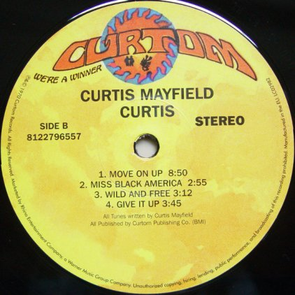 Curtis Mayfield CURTIS (W326)
