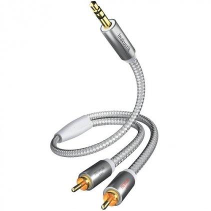 In-Akustik Premium MP3 3.5mm <> 2RCA 1.5m #004100015