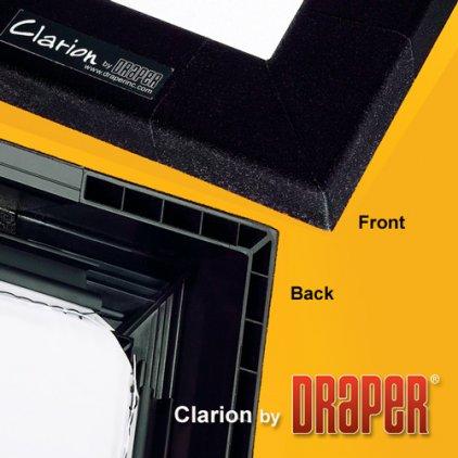 "Draper Clarion HDTV (9:16) 234/92"" 114*203 M1300 (XT1000V) Vel-Tex"