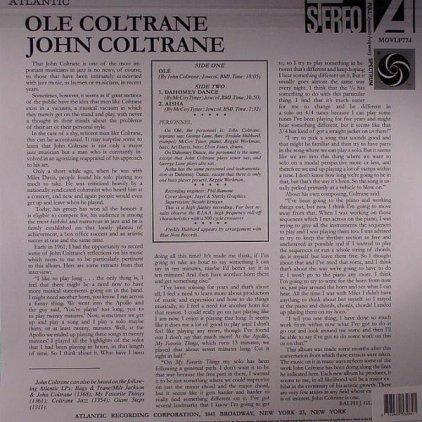 John Coltrane OLE (180 Gram)