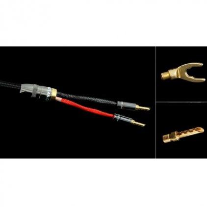 Акустический кабель Atlas Mavros Wired (4x4) 5.0m Transpose Spade Gold
