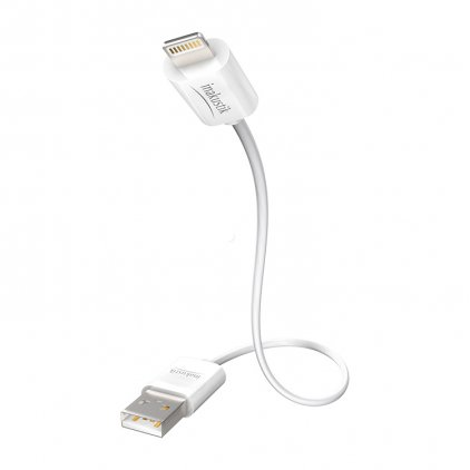 In-Akustik Premium iPlug Cable Apple Lightning > USB A, 1.0m #00440201