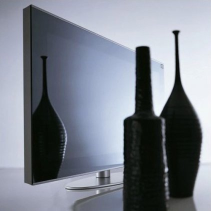 "Hantarex LCD 42"" Four Stripes Blk/mir  черное зеркало, черн"