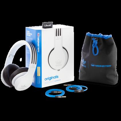 Наушники Monster Adidas Originals Over-Ear Headphones White (137013-00)