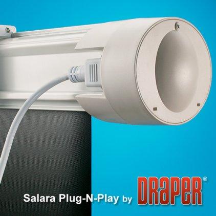 """Draper Salara HDTV (9:16) 185/73"""" 91*163 MW (XT1000E) ebd"""