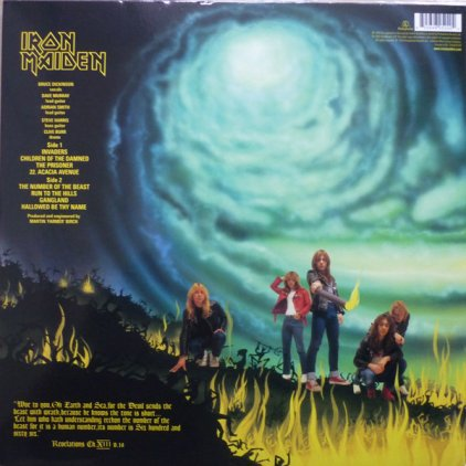 Iron Maiden THE NUMBER OF THE BEAST (180 Gram)