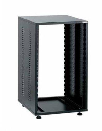 EuroMet EU/R-22  00435 Рэковый шкаф, 22U, глубина 400мм, сталь черного цвета.