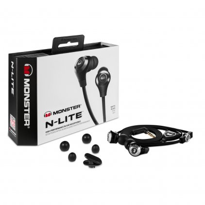 Наушники Monster N-Lite In-Ear Black (128591-00)