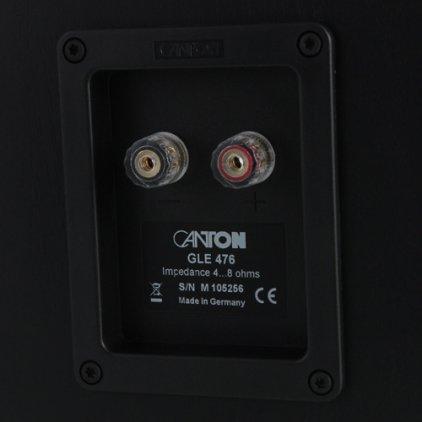 Canton GLE 476 mocca/white