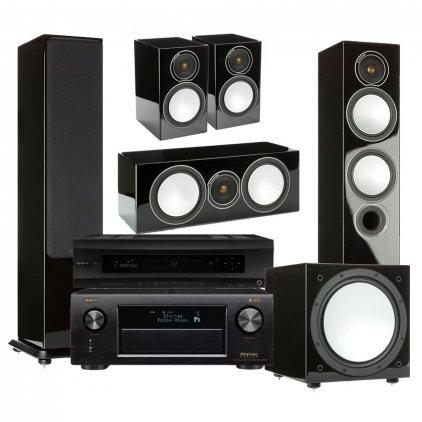 Комплект домашнего кинотеатра №80 (Denon + Monitor Audio)