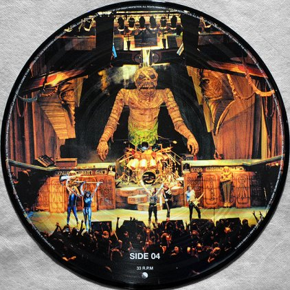 Iron Maiden SOMEWHERE BACK IN TIME: THE BEST OF 1980-1989 (Pic