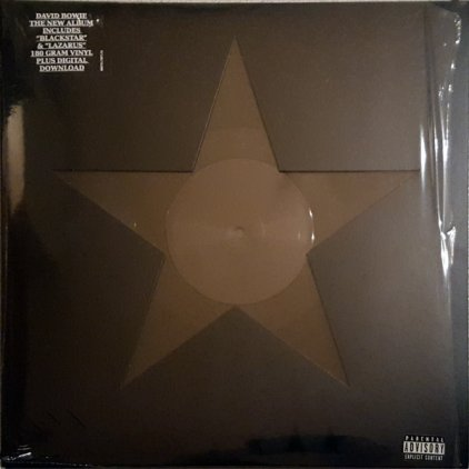 Виниловая пластинка David Bowie BLACKSTAR (180 Gram)