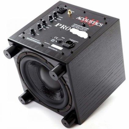 Сабвуфер MJ Acoustics Pro 60 Mk I black ash