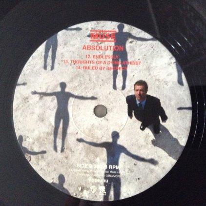 Виниловая пластинка Muse ABSOLUTION (180 Gram)