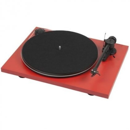 Pro-Ject ESSENTIAL II (DC) (OM 5e) matt red