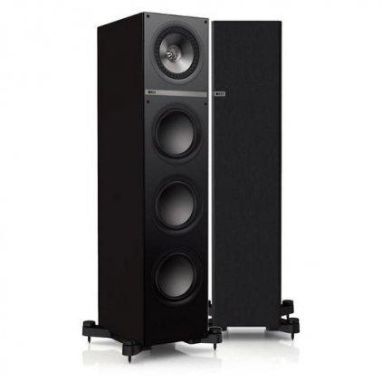 KEF Q700 black oak vinyl