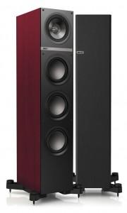 KEF Q900  rosewood vinyl