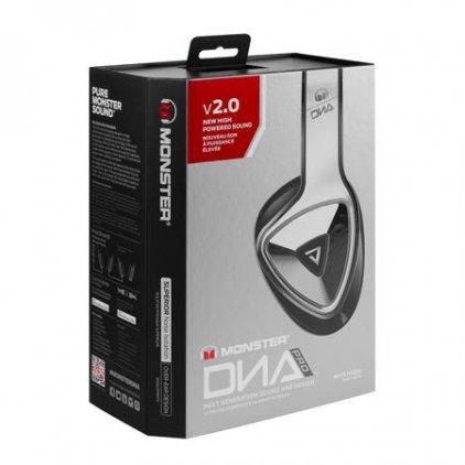 Наушники Monster DNA Pro 2.0 Over-Ear headphones White Tuxedo (137022-00)