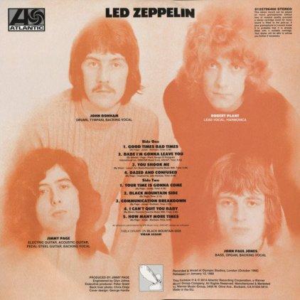 Led Zeppelin LED ZEPPELIN (Deluxe Edition/Remastered/180 Gram)