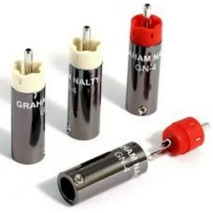 Black Rhodium Graham Nalty RCA gold plug kit GN-4