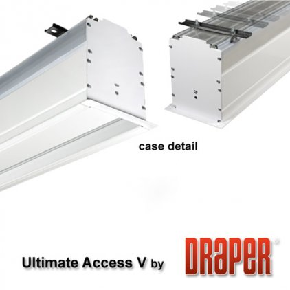 "Экран Draper Ultimate Access/V HDTV (9:16) 338/133"" 165*295 M1300 ebd 12"""