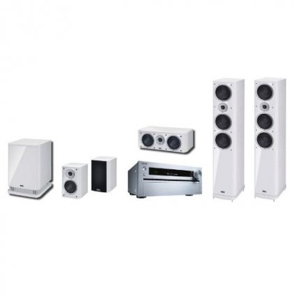 Сабвуфер Heco Music Style Sub 25 A white/white