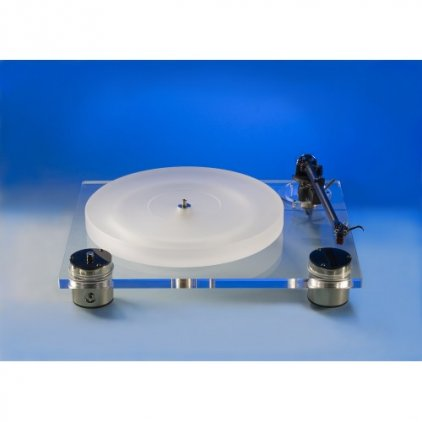 Scheu-Analog Cello Transparent с тонармом Scheu R 202 с ГЗ Ortofon Super OM 10 (ММ)