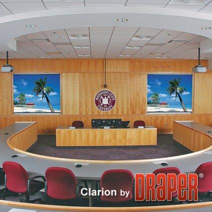 """Draper Clarion HDTV (9:16) 302/119"""" 147*264 HDG Vel-Tex"""