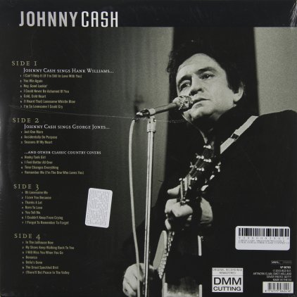 Johnny Cash SINGS HANK WILLIAMS, GEORGE JONES & OTHER CLASSIC