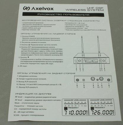 AXELVOX DWS7000HT