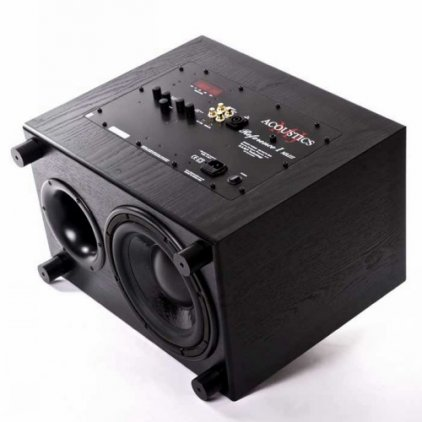 Сабвуфер MJ Acoustics Ref 1 Mk III black ash