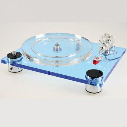 Проигрыватель винила Scheu-Analog Cello Blue с тонармом Scheu R 202 с ГЗ Ortofon Super OM 10 (ММ)
