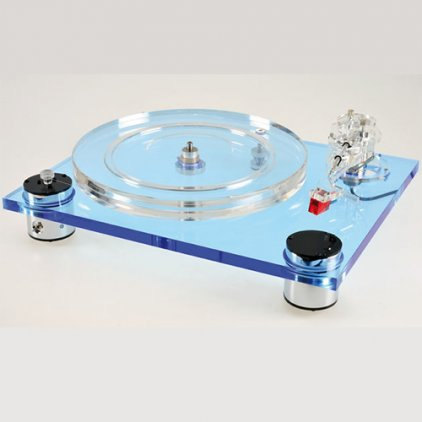 Scheu-Analog Cello Blue с тонармом Scheu R 202 с ГЗ Ortofon Super OM 10 (ММ)