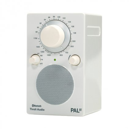 Tivoli Audio PAL BT glossy white/white