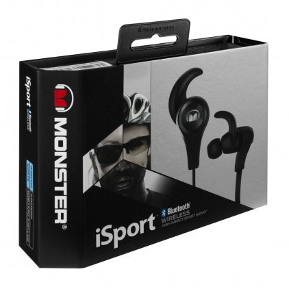 Monster iSport Bluetooth Wireless In-Ear Headphones Black (128660)