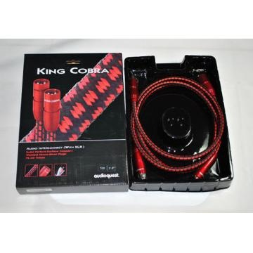 AudioQuest King Cobra XLR 0.75m